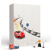Шкаф ABC-King 3-х дверный Formula