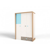 Шкаф ABC-King 3-х дверный Mix