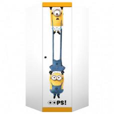 Шкаф Polini kids Fun 1250 Миньоны угловой