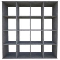 Шкаф Polini стеллаж Home Smart кубический 16 секций