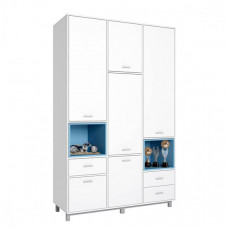 Шкаф Polini трехсекционный kids Mirum 2335