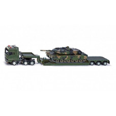 Siku Грузовик-тягач военный с танком 1:55