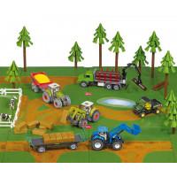 Siku Игровой набор Грунтовые дороги и леса