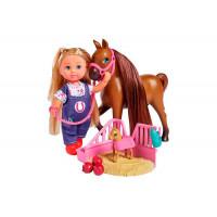 Simba Кукла Еви с беременной лошадкой 12 см