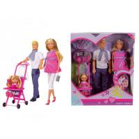 Simba Кукла Штеффи и семья