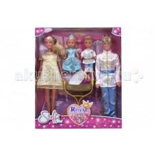 Simba Куклы Штеффи Кевин Еви Тимми набор Королевская семья