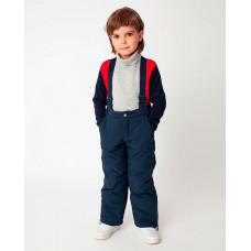 Синие брюки утепленные зимние Gulliver 22005BMC6404