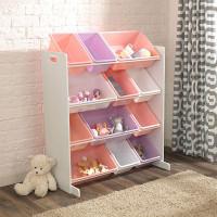 Система для хранения в детскую комнату с 12 контейнерами Kidkraft
