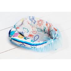 SlingMe Кокон-гнездышко Класс с подушкой