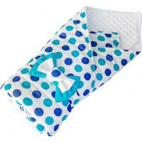 SlingMe Конверт-одеяло Горошки (демисезон)