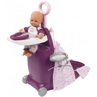 Smoby Baby Nurse Набор для кормления и купания пупса в чемодане