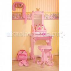 Spiegelburg Детский Макияжный столик с табуреткой Prinzessin