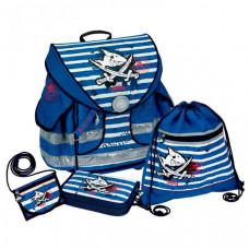 Spiegelburg Школьный ранец Capt'n Sharky Ergo Style plus с наполнением 10589
