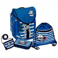 Spiegelburg Школьный рюкзак Capt'n Sharky Flex Style с наполнением 10600