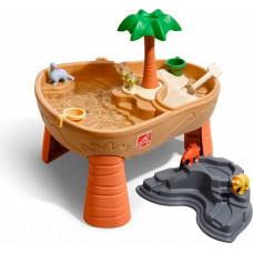 Step 2 Столик для игр с водой и песком Дино