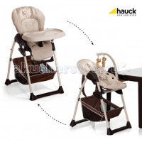 Стульчик для кормления Hauck Siti'n Relax + шезлонг для новорожденного
