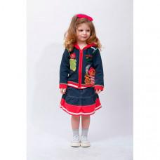 Sunbaby Комплект для девочки (кофта и юбка) 104-0007