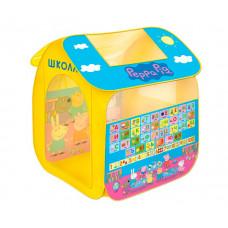 Свинка Пеппа (Peppa Pig) Игровая палатка Учим азбуку с Пеппой (в мягкой упаковке)