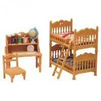 Sylvanian Families Набор Детская комната с двухэтажной кроватью