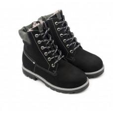 Tapiboo Ботинки детские мех кожаные 23014