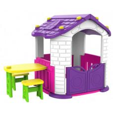 Toy Monarch Игровой домик со столиком и 2 стульчиками