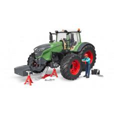 Трактор Fendt 1050 Vario с фигуркой и аксессуарами