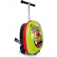 Трехколесный самокат Zinc с чемоданом Monster