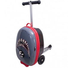 Трехколесный самокат Zinc с чемоданом Shark