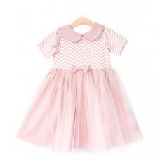 Trendyco kids Платье зигзаги