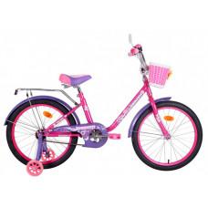 """Велосипед двухколесный BlackAqua Princess 12"""" со светящимися колесами"""