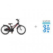 Велосипед двухколесный Puky ZLX 18 Alu и Cova Наклейки световозвращающие Звездочки 100 х 85 мм