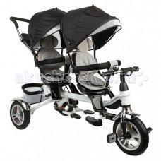 Велосипед трехколесный Capella для двойни Twin Trike 360