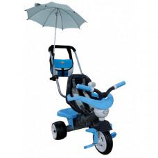 Велосипед трехколесный Coloma Амиго с сумкой и зонтиком (колеса пластмассовые)
