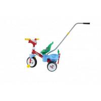 Велосипед трехколесный Coloma Беби Трайк с звуковым сигналом и набором из 2 элементов