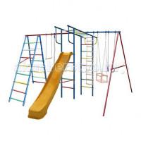 Вертикаль А+П Макси Детский спортивный комплекс с горкой
