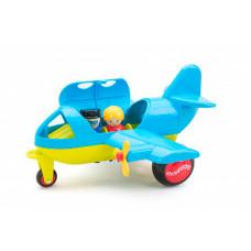 Viking Toys Самолет Джамбо с 2 фигурками