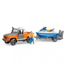 Внедорожник Ram с водным мотоциклом Bruder 02-599