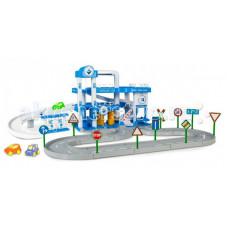 Wader Игрушечный Паркинг ARAL 3-уровневый с дорогой