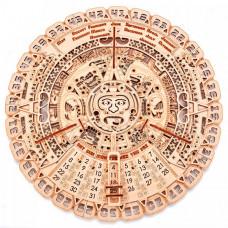 Wood Trick Механическая сборная модель Календарь Майя