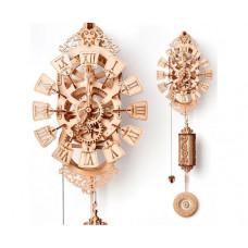 Wood Trick Механическая сборная модель Маятниковые часы (251 деталь)