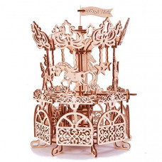Wood Trick Механический 3D-пазл Карусель