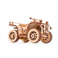 Wood Trick Механический 3D-пазл Квадроцикл ATV