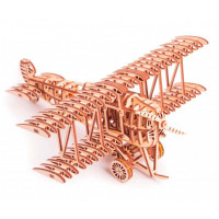 Wood Trick Механический 3D-пазл Самолет
