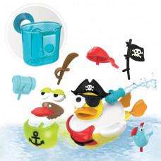 Yookidoo Игрушка водная Утка-пират с водометом и аксессуарами