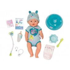 Zapf Creation Кукла-мальчик Baby born интерактивная 43 см
