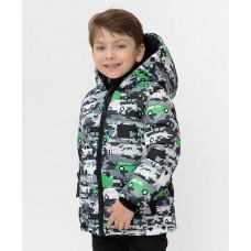 Зимняя куртка с принтом Button Blue 220BBBMC41030113