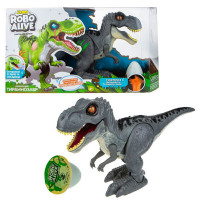 Zuru Robo Alive Игровой набор Робо-Тираннозавр + слайм