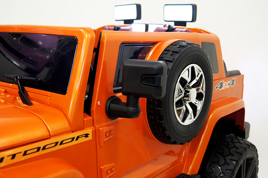 Электромобиль Rivertoys Jeep Wrangler O999OO-4*4 - купить ...